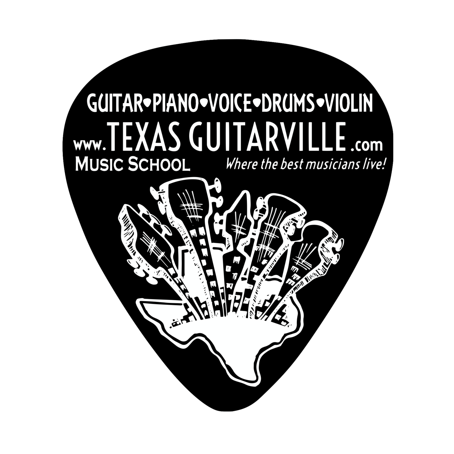 TEXAS GUITARVILLE Music Schools in Keller|Flower Mound
