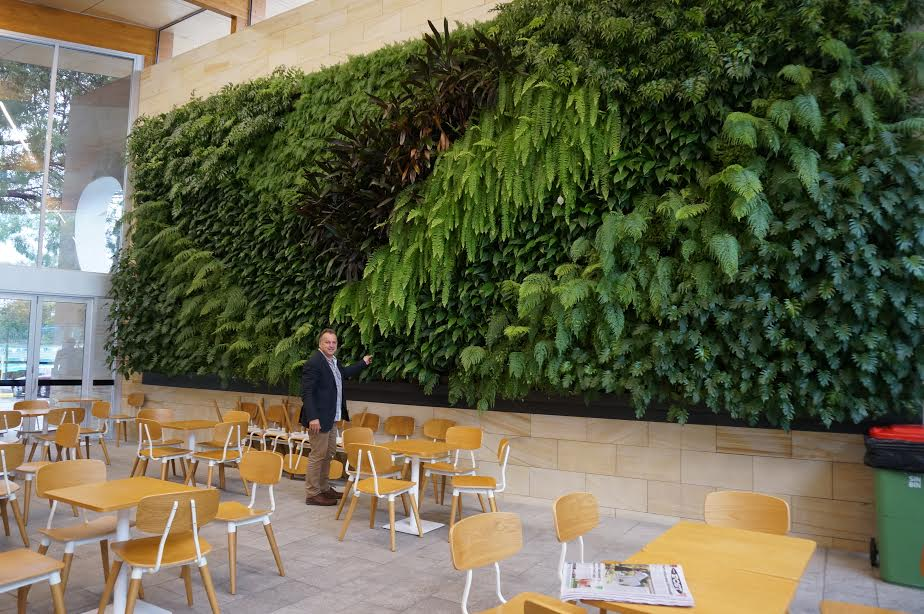 Green Wall project in Western Australia (Atlantis Growall)