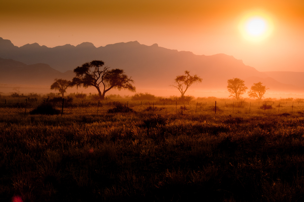 Sunrise, Solitaire, Namibia