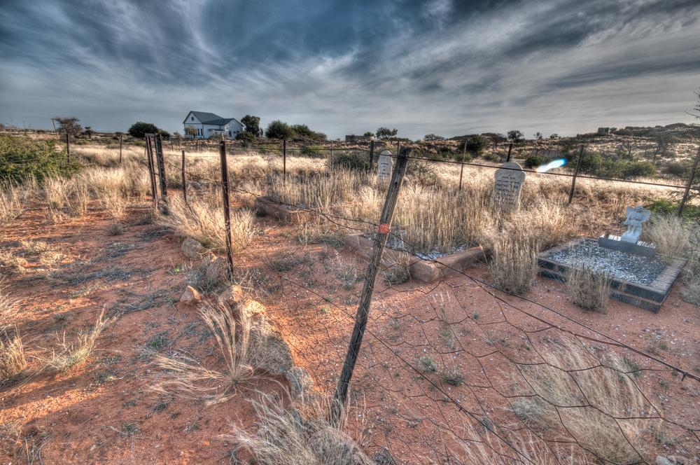 White Farm family graveyard, Grunau, Namibia
