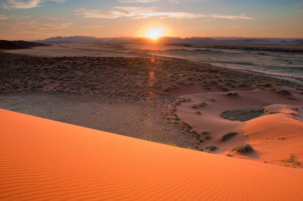 Sunrise, Sossusvlei, Namibia