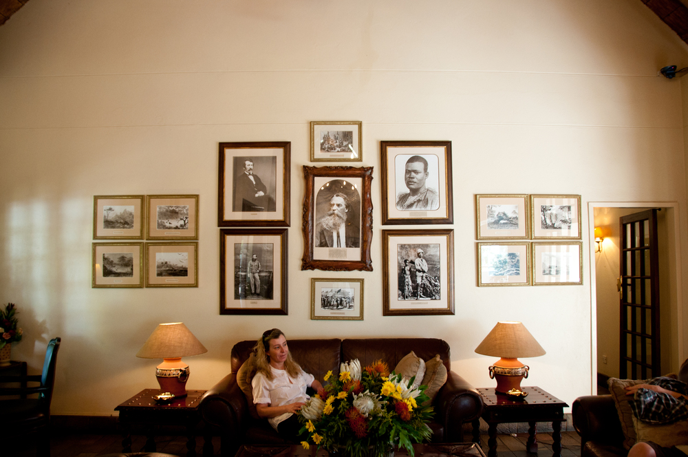 Waiting hall, Ilala Lodge, Vic Falls