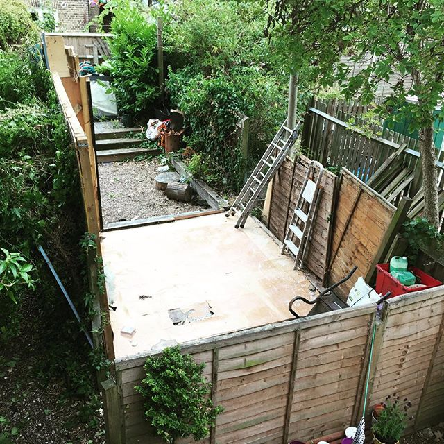 Where's the shed?? (It's ok #shedofbrokendreams)