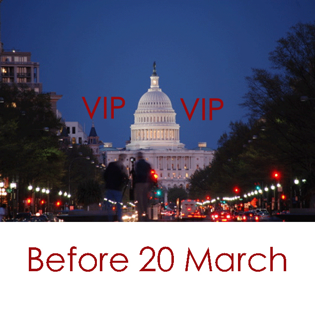 Early Registration - $900 plus VIP Accommodations - $2,800 One person in a room  Register now - >