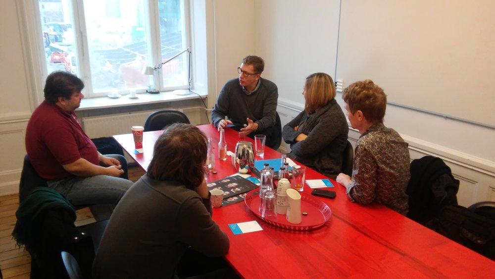 Tikšanās ar Dānijas Sociālās ietekmes investīciju fonda vadītāju Lars Jannick Johansen