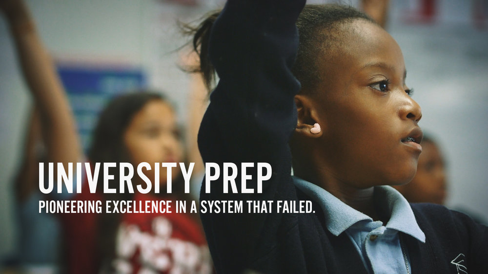 PIONEERING EXCELLENCE IN A SYSTEM THAT FAILED  University Preparatory Schools (University Prep) are tuition-free public charter schools and are part of Denver Public Schools. We focus on college the second a child walks through our doors. With elements of college culture incorporated into each classroom and college campus visits each year, each U Prep scholar is on the path to a four year college degree..    Watch Film →