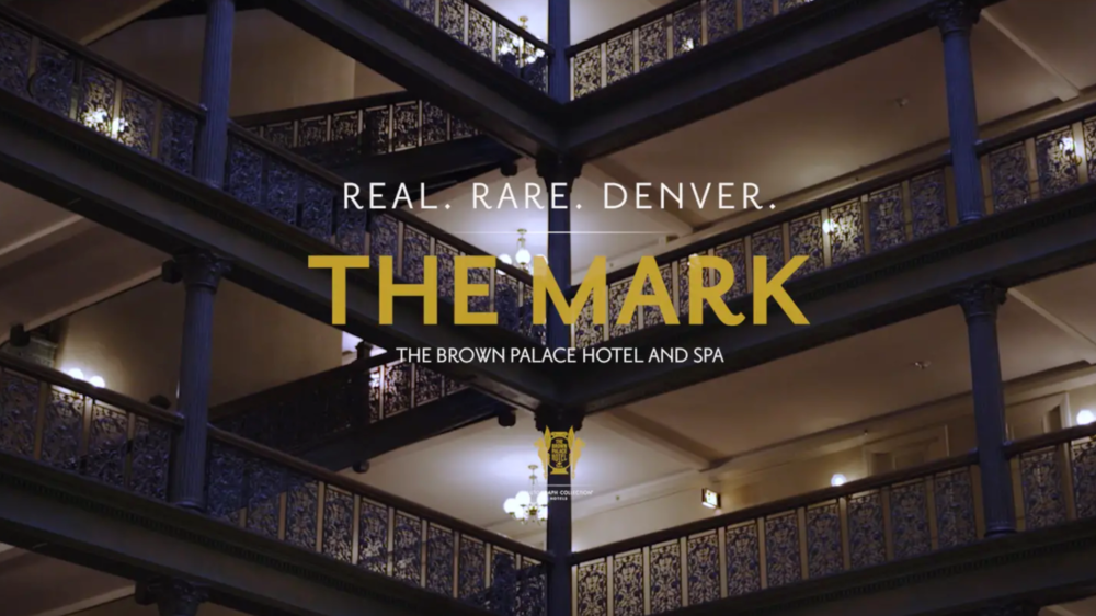 "MAKING THE MARK  How do you define the true Mark of the Brown Palace Hotel & Spa? It isn't just one thing - one aspect. This series shows the journey of one documentary filmmaker as she sets out to find the ""one thing"" that encapsulates and defines the Brown Palace, and why in the end, it truly is  Real. Rare. Denver.    Watch Series →"