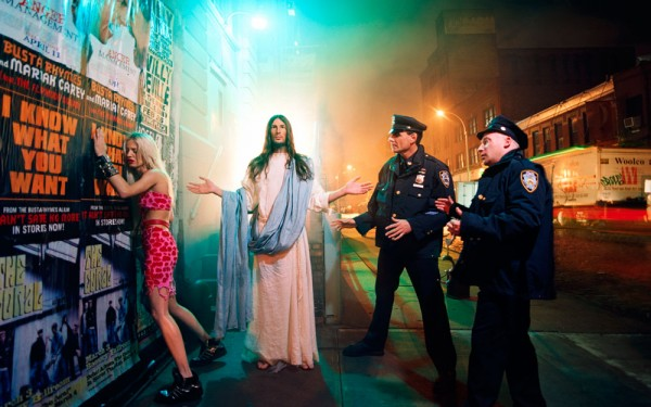 David LaChapelle, Jesus is my Homeboy, Intervention 2003 Chromogenic Print      (c) David LaChapelle
