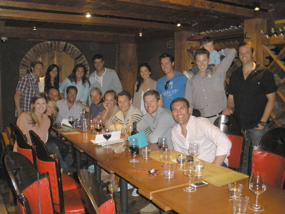 The Murray birthday crew