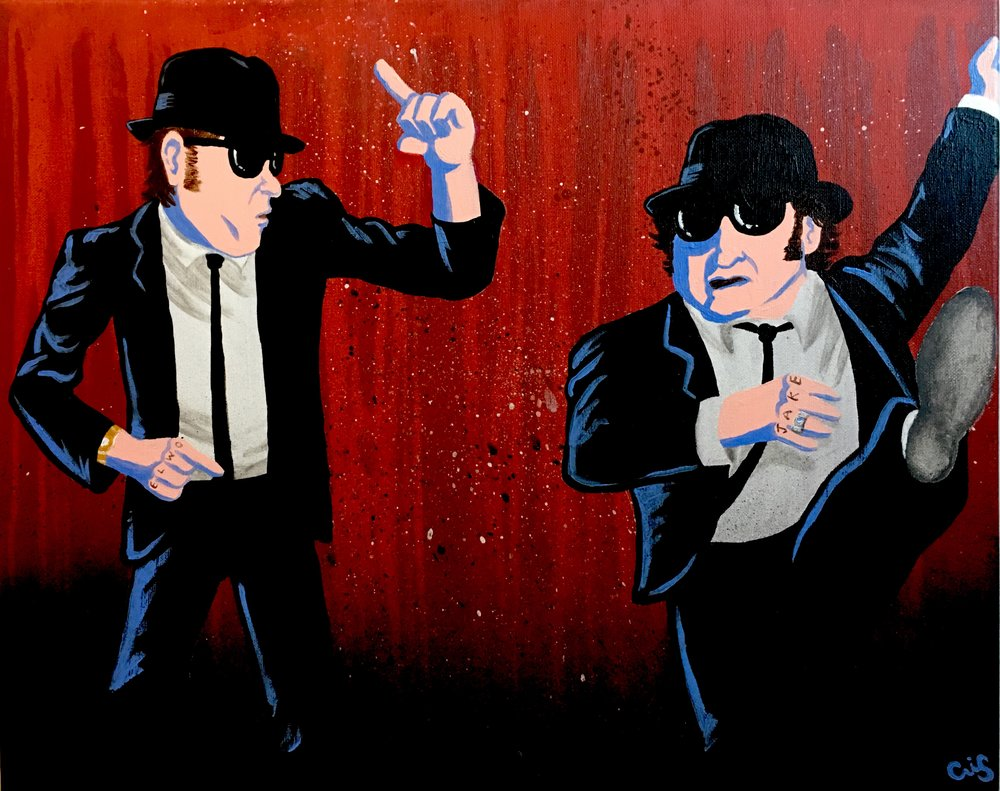 Blues Brothers commissioned piece