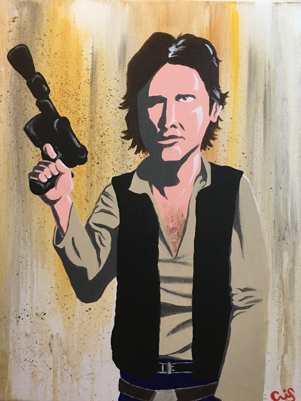 Han Solo commissioned piece