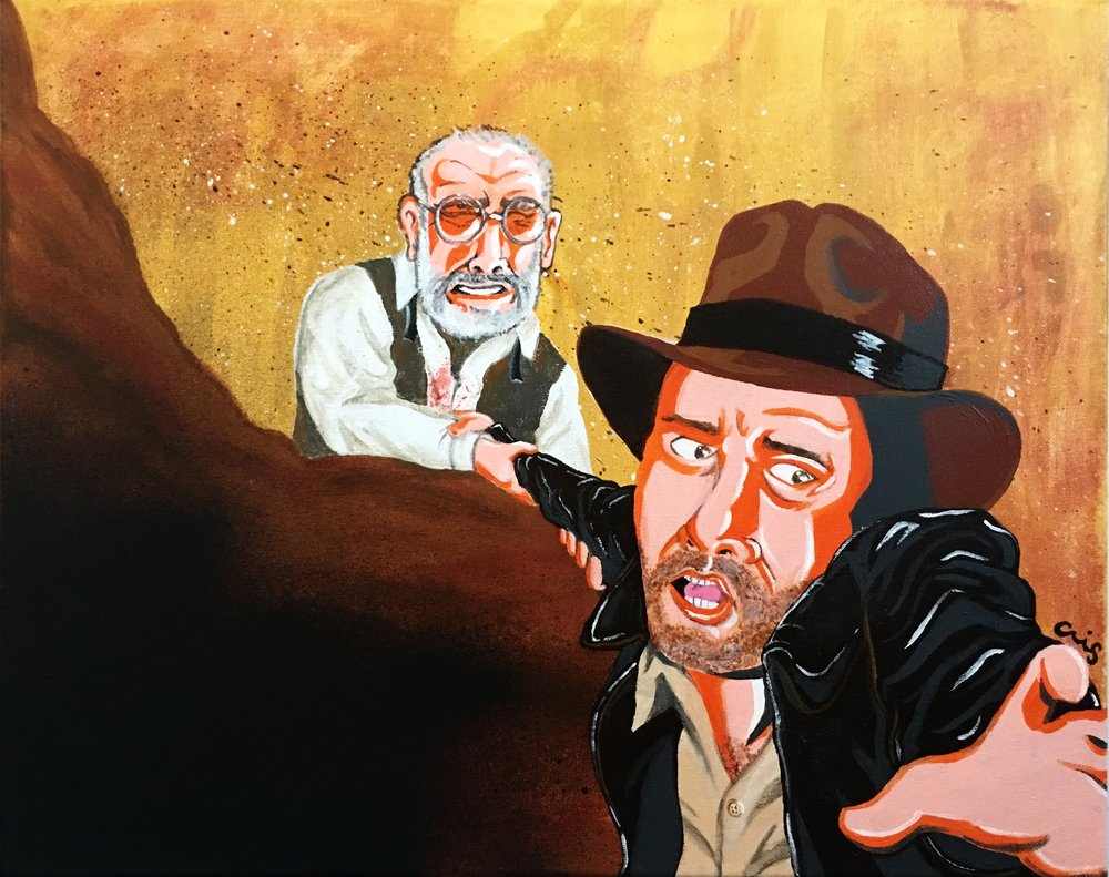 Indiana Jones and the Last Crusade commissioned piece