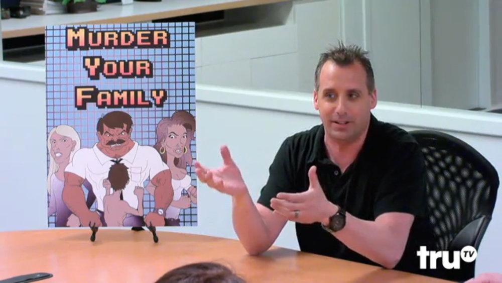 MURDER YOUR FAMILY on TruTV's Impractical Jokers