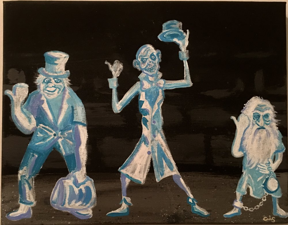 Hitchhiking Ghosts (Haunted Mansion)