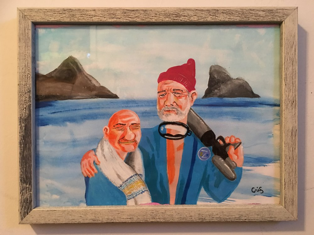 Esteban and Steve (The Life Aquatic with Steve Zissou)