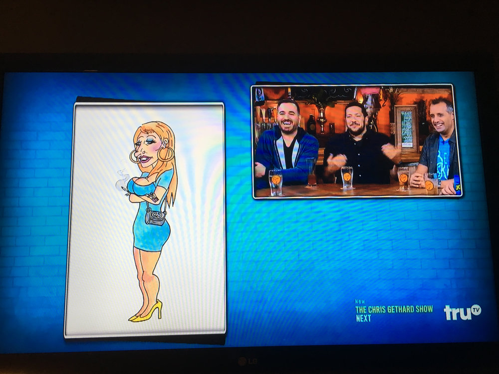 New Jersey Mural Design - truTV's IMPRACTICAL JOKERS: AFTER PARTY