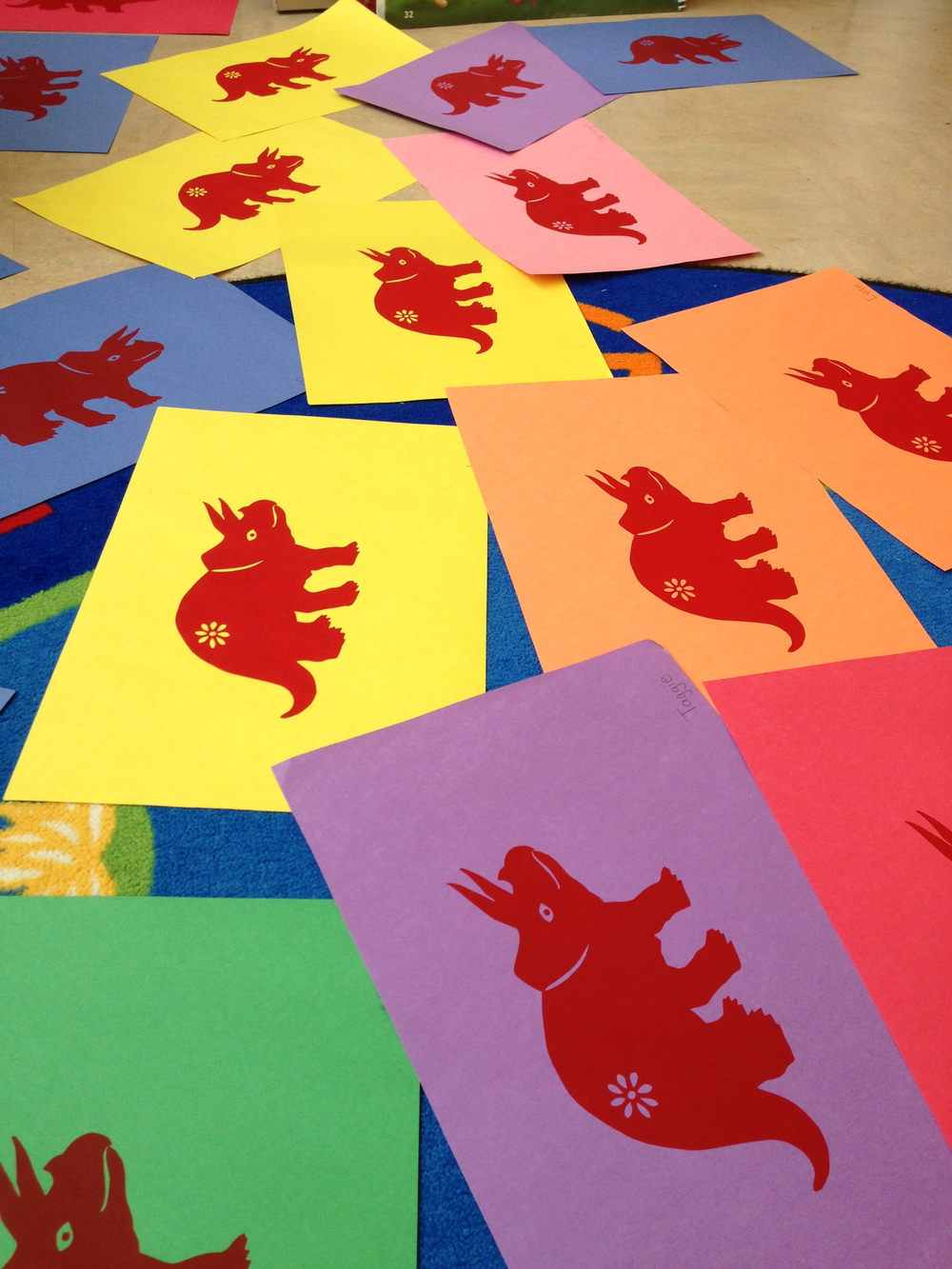 Dino Prints