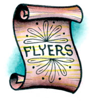 Image result for flyers icon