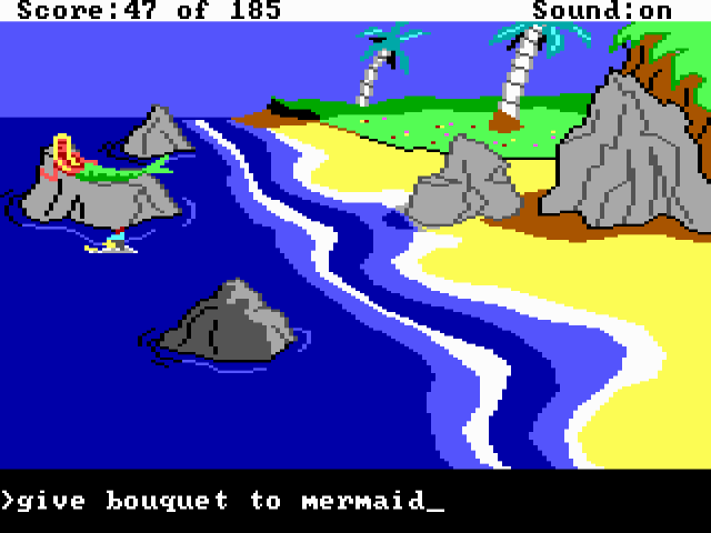 King's Quest II (1985) from Sierra On-Line.