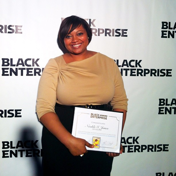 Was honored by Black Enterprise magazine (Top Women in Advertising and Marketing)