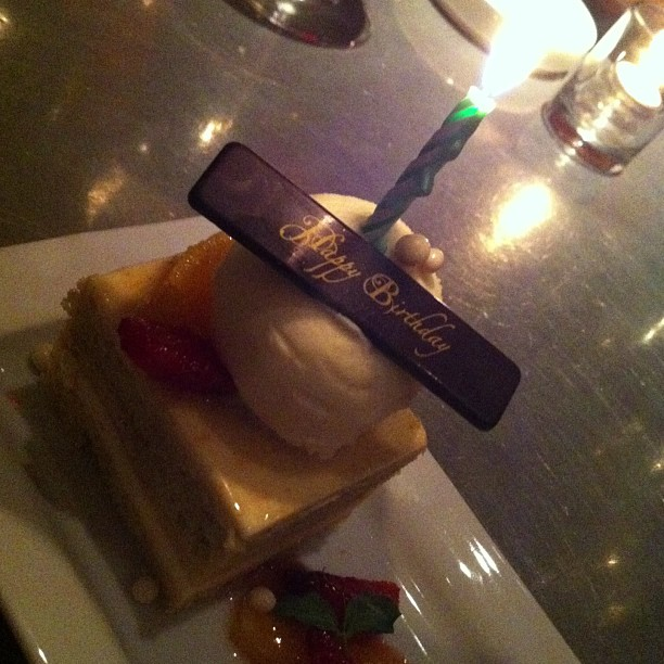 Celebrated my 34th Birthday at Crosby Bar in The Crosby Street Hotel (gosh I'm getting old!)