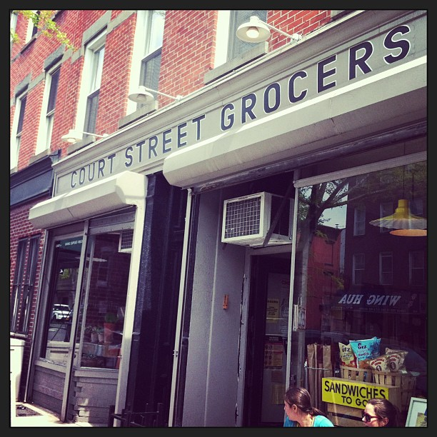 Checked out Court Street Grocers in Clinton Hill - home of the best Turkey Club sandwich in the nation (it did not disappoint)