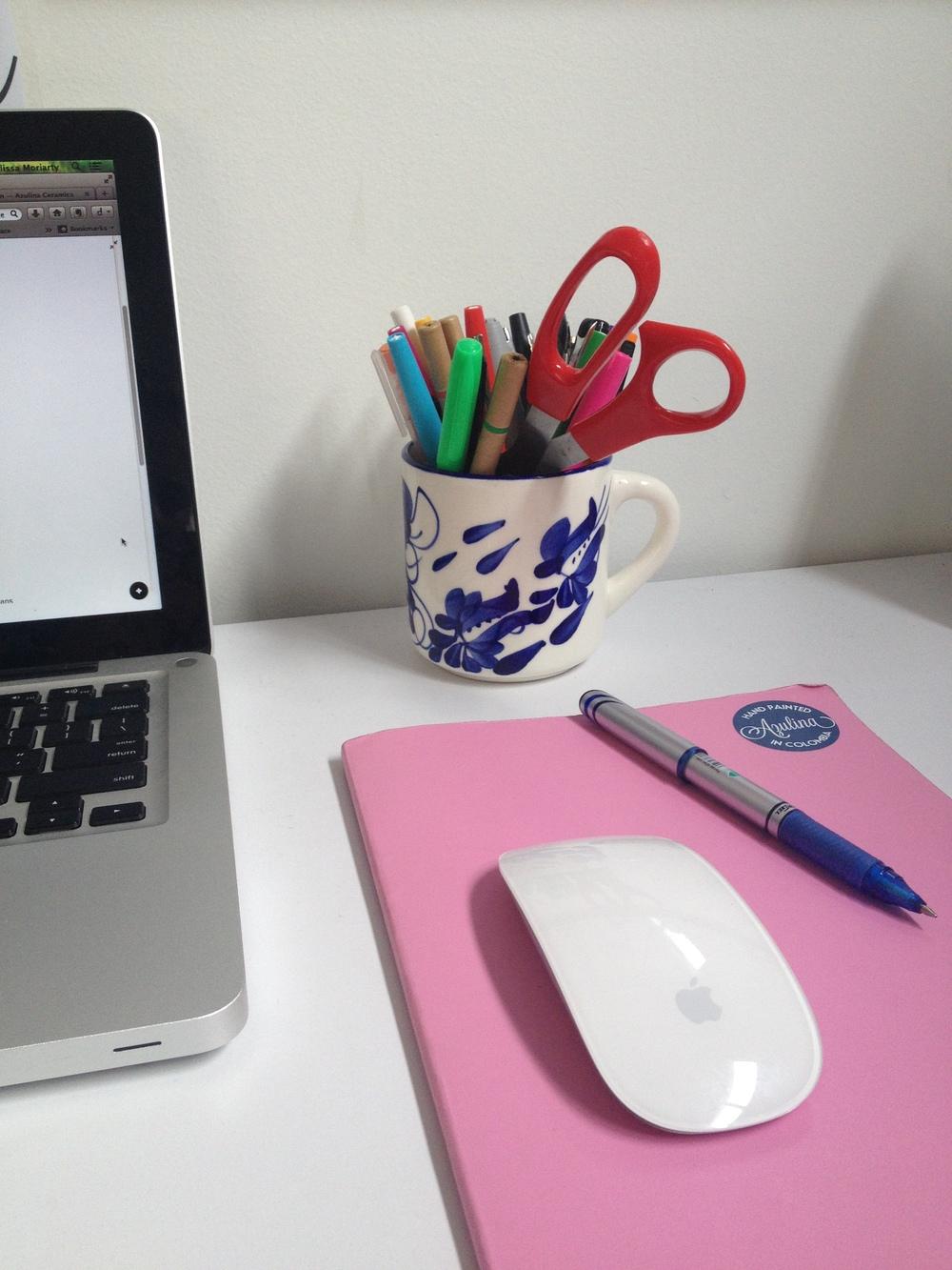 Melissa's Desk