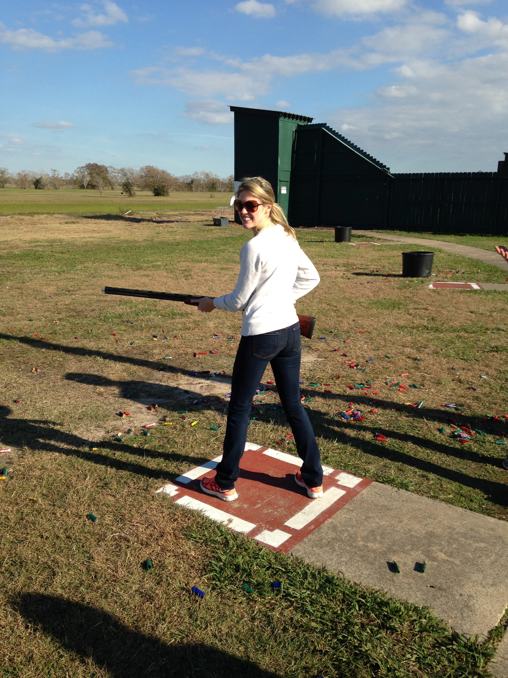 Watch out clay pigeons!
