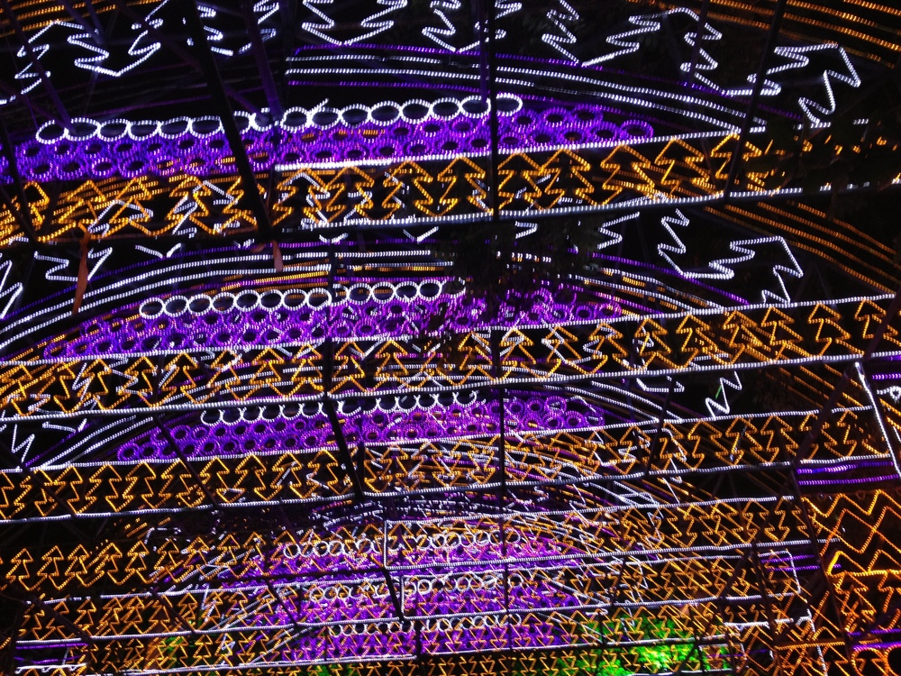 Lights in Medellín