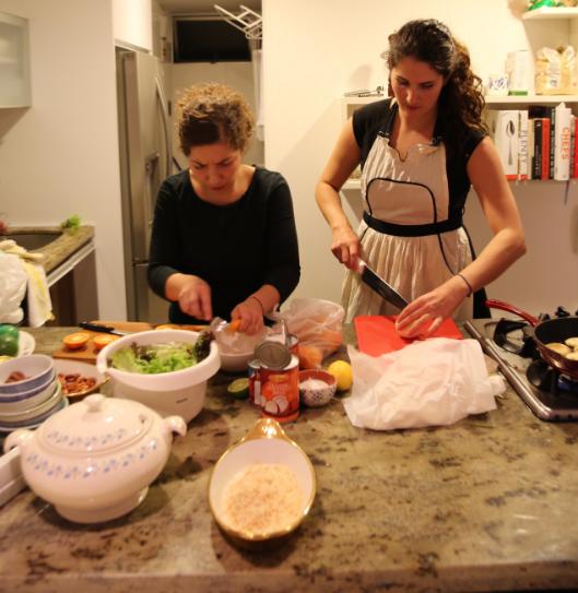 Paula (left) and Jennie (right)