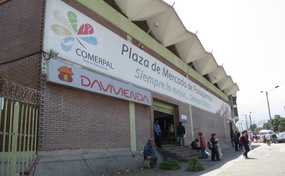 Paloquemao Entrance