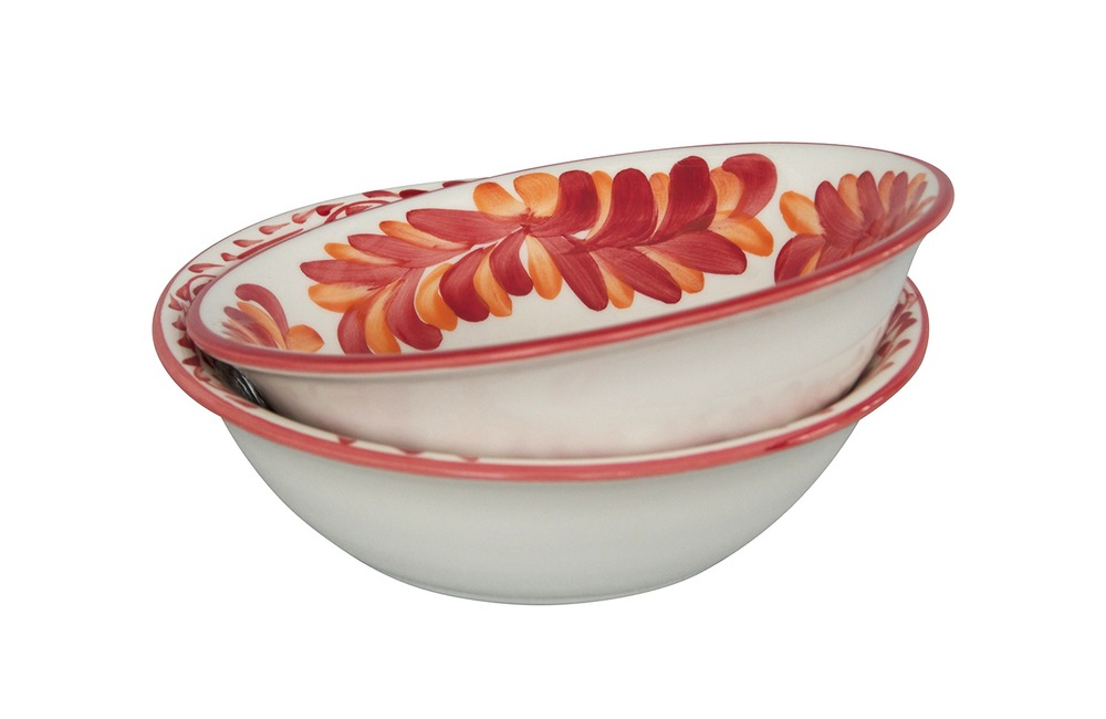 Small Serving Bowls - Rojo and Amapola Pictured - $48 each