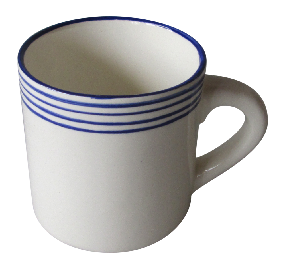 Linea Blue Everyday Mug - $19
