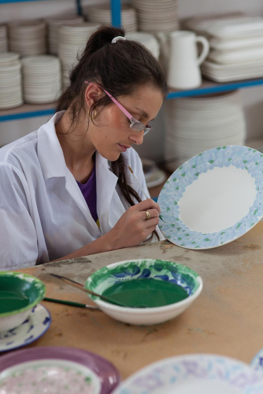 painting Hydrangea