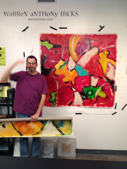 My arm's out of focus!