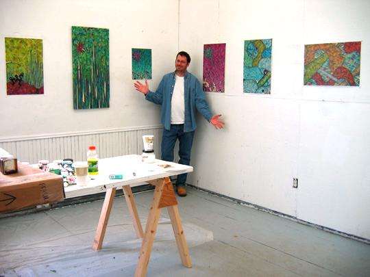 Vermont Studio Center, Feb. 2007