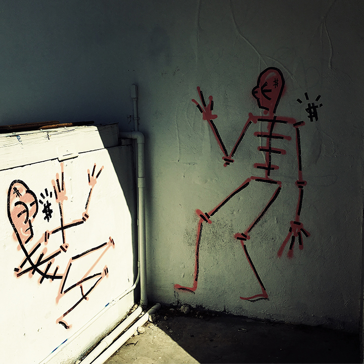 Skeletal Graffiti