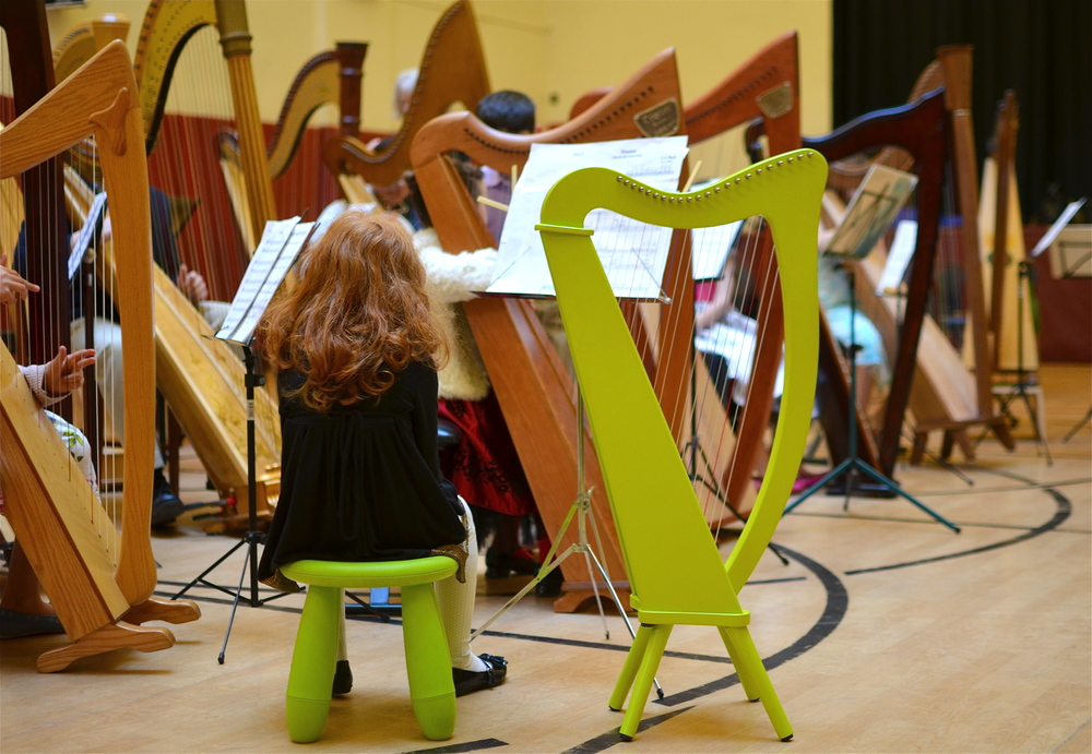 MetroHarp Ensemble Concert