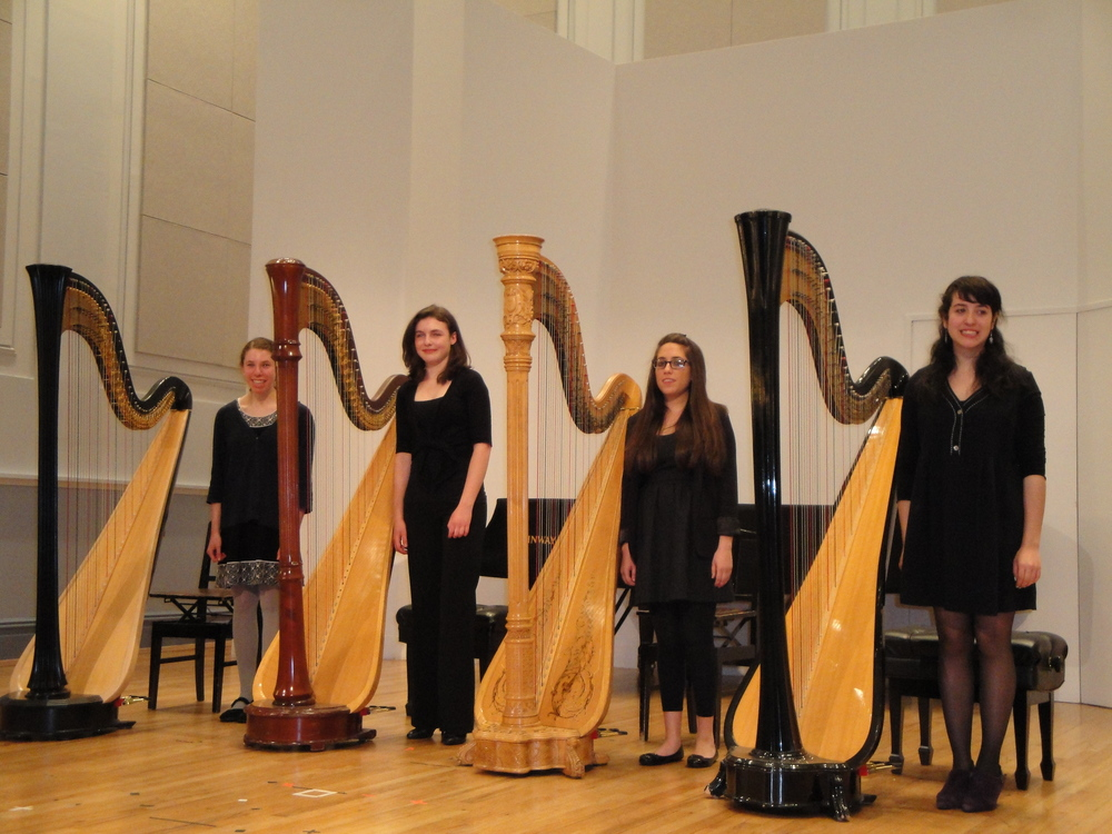 Manhattan School of Music Precollege Harp Recital