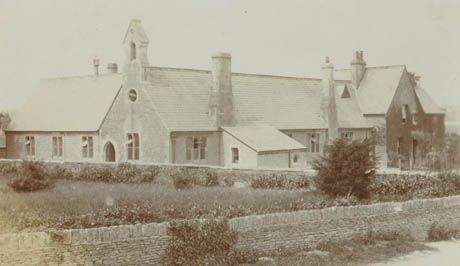 Neston School, photograph c. 1907