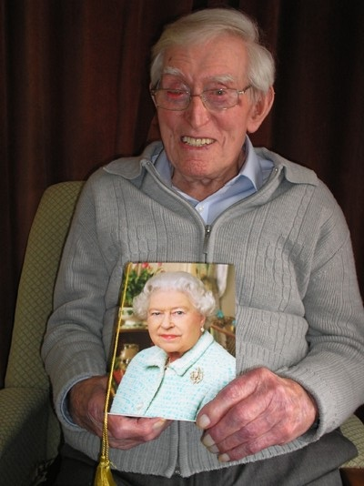 Mr Poulsom with Queen card.jpg