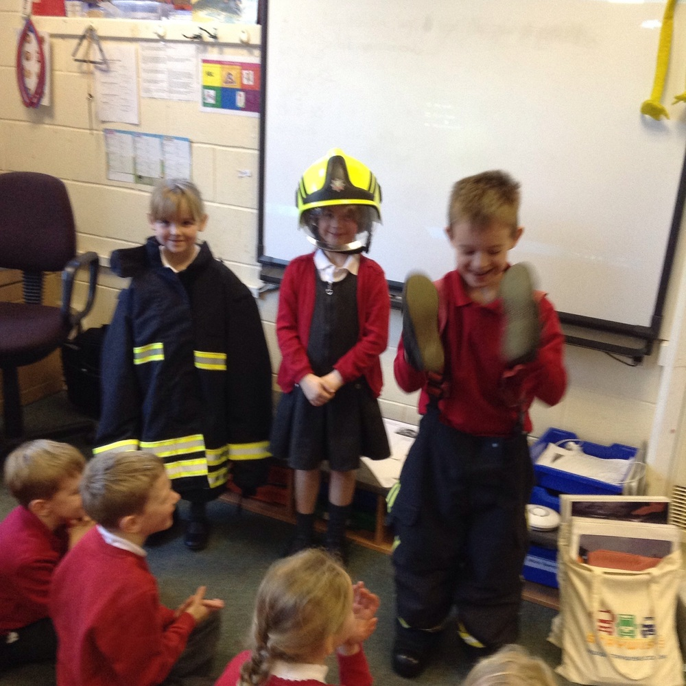 Our very own firefighters!