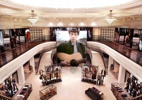 Burberry's London Flagship