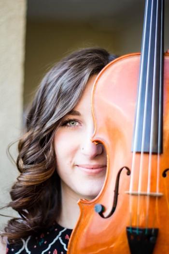 Brianna Fiegl, violin