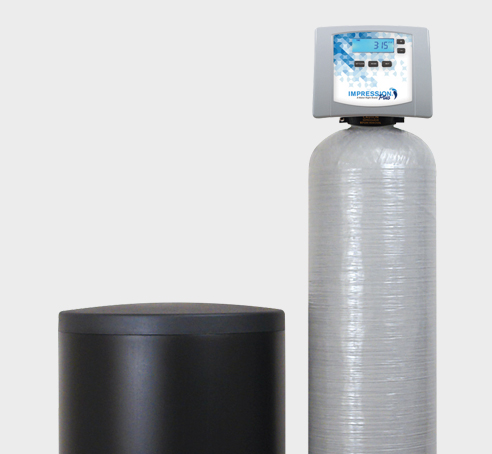 Soft water for your household - Whether you need to treat hard municipal water or on a well water system, Impression Plus Series® water softeners by Water Right deliver the clear, soft water you want. An easy-to-read, backlit LED screen and user-friendly console allow you to monitor all operating functions with a battery backup.Learn more