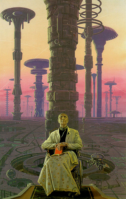 Asimov's Foundation trilogy.