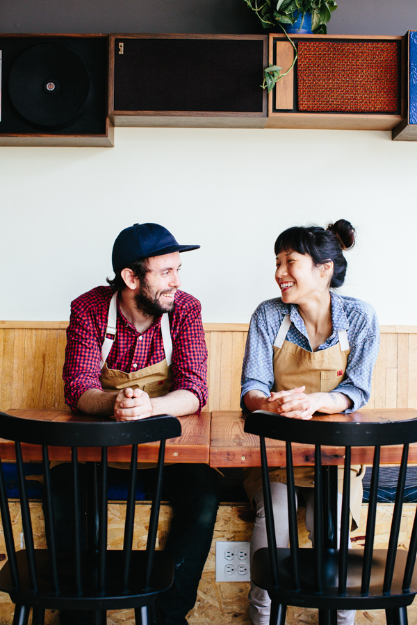 Johnny Clark + Beverly Kim / Bon Appetit Mag