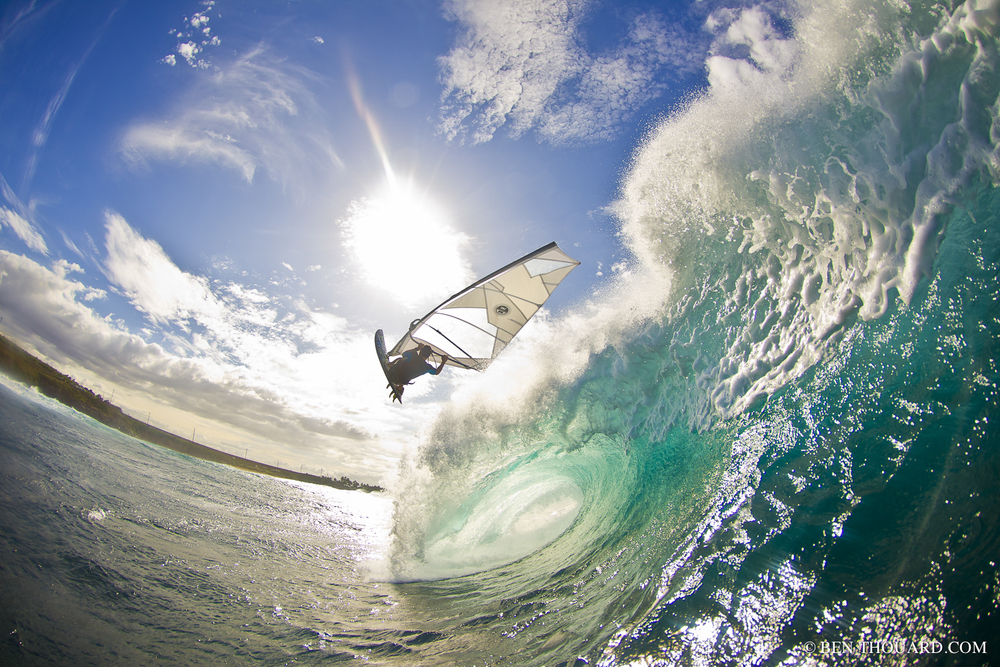 Windsurfing Hawaii 2011