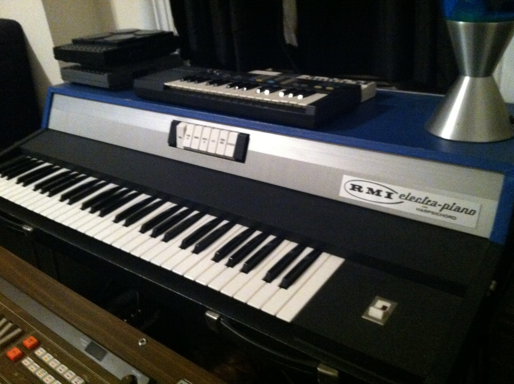 A Rare Blue RMI Piano