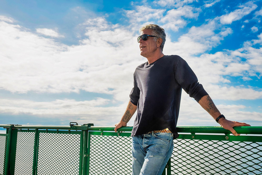 """Photograph what is there."" - — Anthony Bourdain"